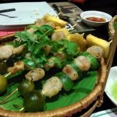 ネムヌンガン - ダクサンニャチャン(Nem nướng Gánh - Đặc sản Nha Trang)