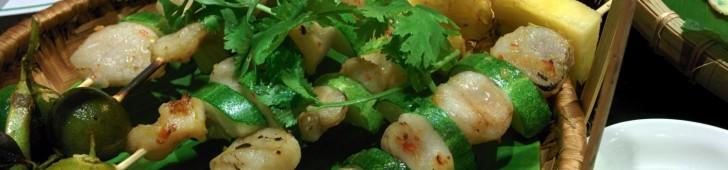 ネムヌンガン – ダクサンニャチャン(Nem nướng Gánh – Đặc sản Nha Trang)