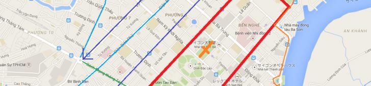 4月30日の南部解放記念日パレードに向けてホーチミン市中心部が通行止めとなります
