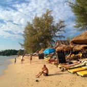 カンボジアツーリング第10回~カンボジアのビーチ、シアヌークビルへ~