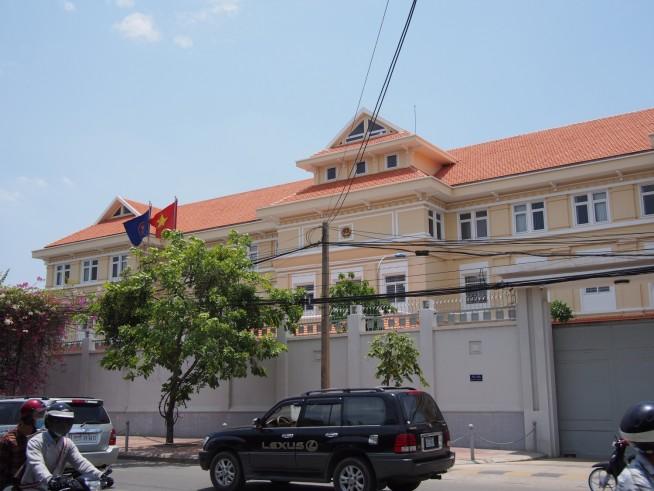 プノンペンのベトナム大使館