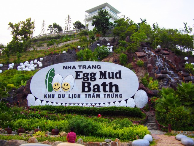 100 Egg Mud Bath入口