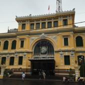 まだまだ現役のコロニアル建築「サイゴン中央郵便局」に行ってみよう!
