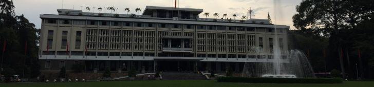ホーチミン観光といえばまずはここ、統一会堂(旧大統領官邸)に行ってみよう!