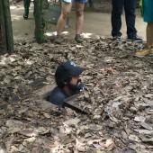 クチトンネルに行ってみよう 〜ベトナム戦争時に作られた巨大地下施設〜