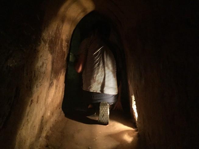 昔はこれより小さいトンネルを行き来してたなんて信じられません。