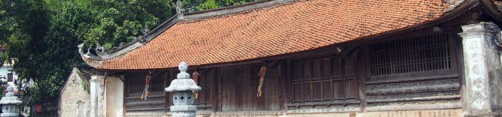 ハノイ近郊にある水上人形劇発祥の地「タイ寺(天福寺)」を観光しよう