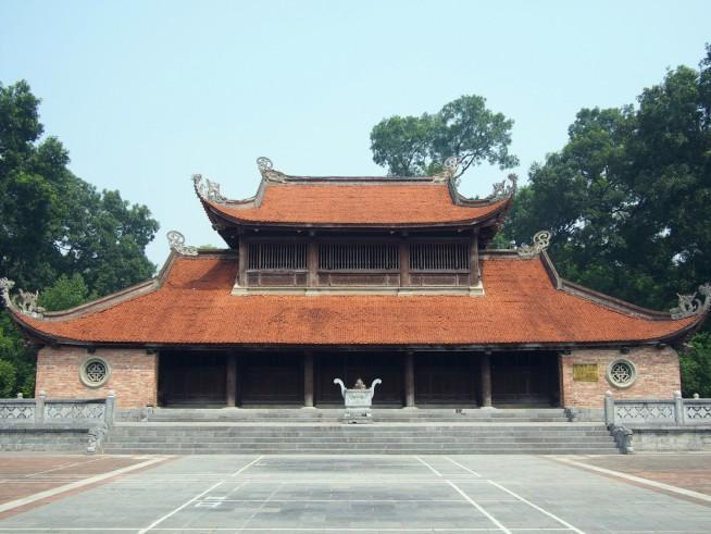 2007年に再建された敬天殿