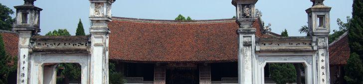 ハノイの郊外にある昔の町並みの残るドゥンラム村とソンタイ古城に行ってみよう