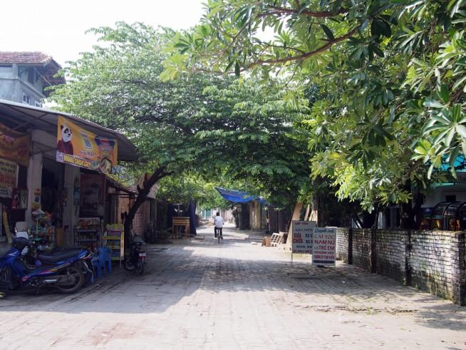 とても静かな村です