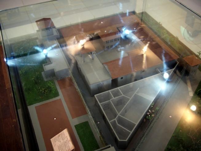 ソンラ強制収容所模型