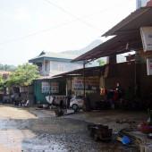ソンラ省フアラ村に温泉街があると聞いて見に行ってきました