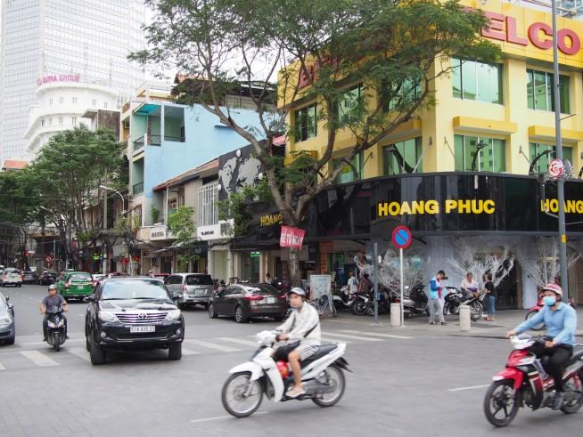 黄色い建物Hoang Phuc
