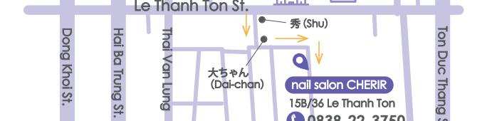 レタントン通りのネイルサロンシェリール(CHERIR)が移転します