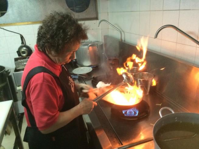 調理の様子