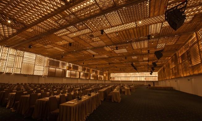 和僑世界大会が開催されるGEMセンター
