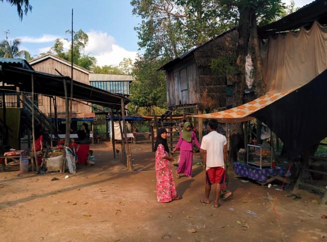 ダーフック村の集落