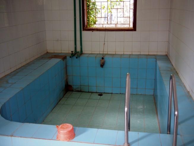 大きなお風呂の部屋もありました