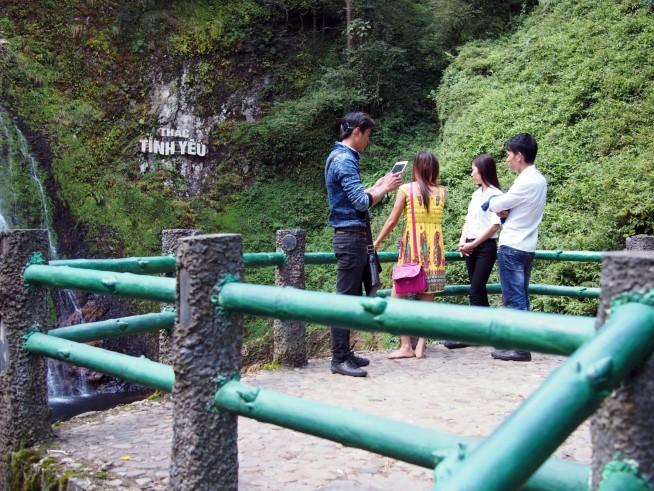 愛の滝展望台