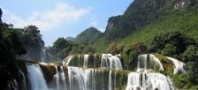 越中国境の絶景「バンゾックの滝」はベトナム最大級で世界でも4位の大きさ
