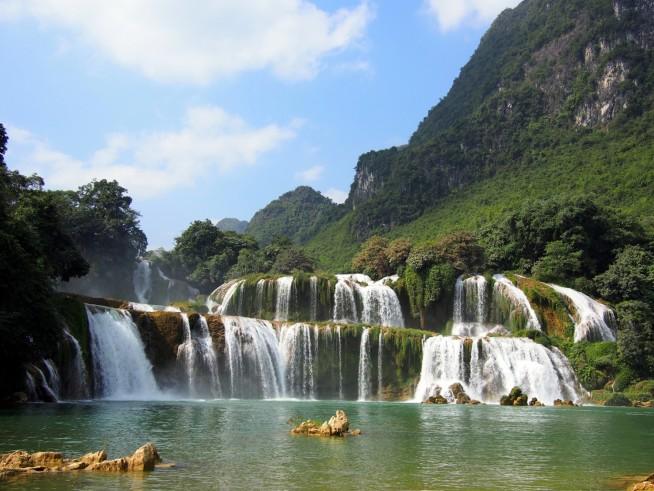 バンゾック滝