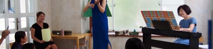 おおぞら日本人幼稚園で「親子で楽しむクリスマスアドベントコンサート」が開催されました