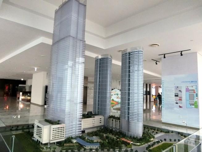 タワーの模型