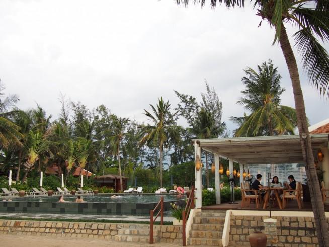 アナマンダラホテルのカフェ