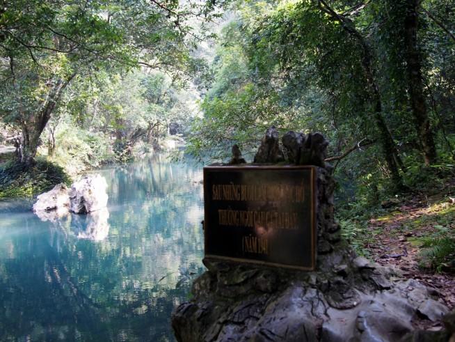 ホーチミンさんが釣りをしていた場所