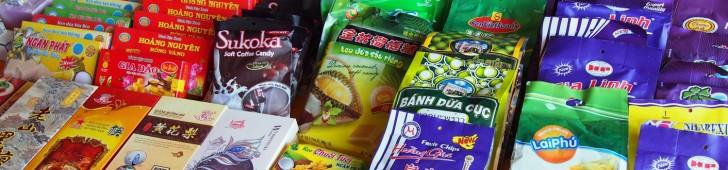 中国国境にあるバンゾックの滝の裏で見つけた謎の中国人マーケット