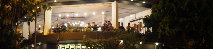 トゥックカフェホアホン通り店(Thức Coffee – Hoa Hồng)