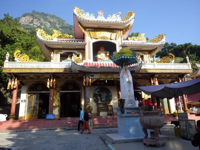 バーデン山のお寺