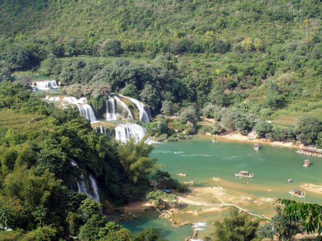 バンゾックの滝