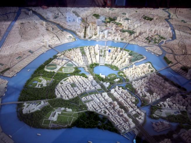 ホーチミン市広域の未来図