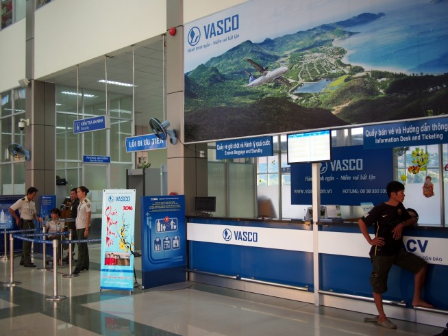 空港にあるVASCO営業所