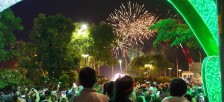 ホーチミン市で行われた2016年テト(旧正月)の花火の様子を紹介します