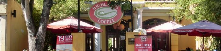 ハイランド・コーヒー・ホイアン(Highland Coffee Hội An)