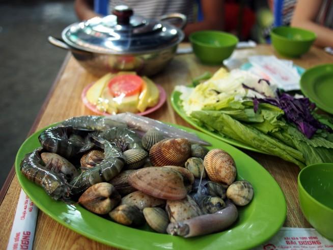 海鮮鍋の具材