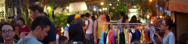 ホーチミン市で開催されるフリーマーケットを訪ねてみよう