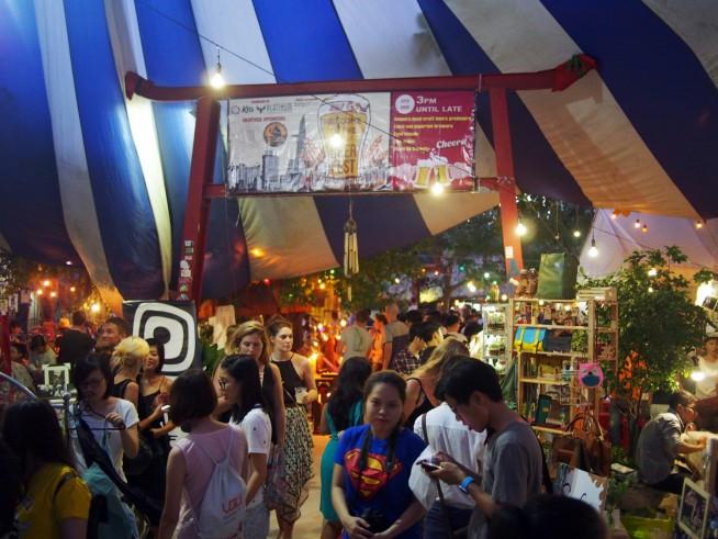 サイゴンアーバンフリーマーケット(Saigon Urban Flea Market)