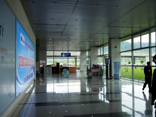広く綺麗な空港
