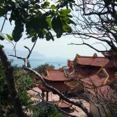 ヌイモット寺(Chùa Núi Một)