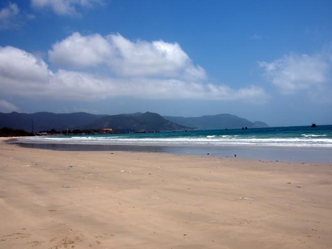 とても静かで穏やかなビーチ