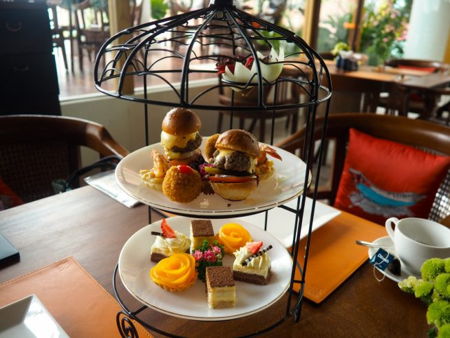 The Nest high tea