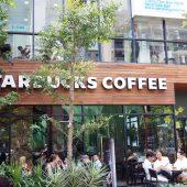 スターバックス グエンフエ店(Starbucks Nguyễn Huệ)