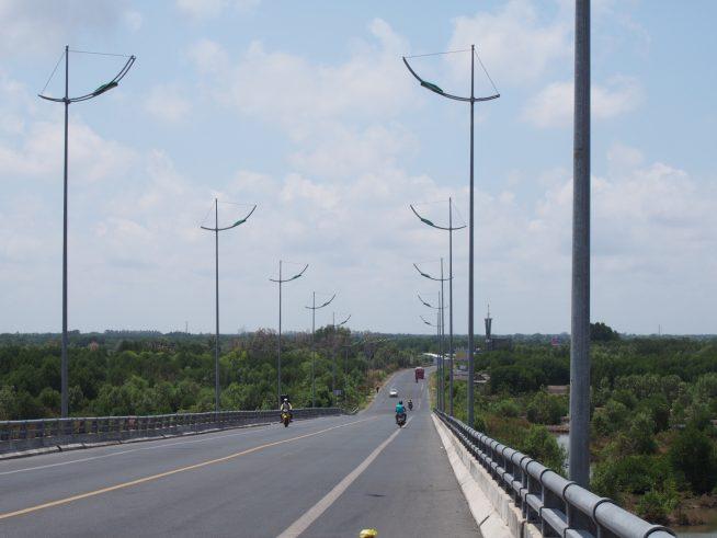 橋の上からの景色
