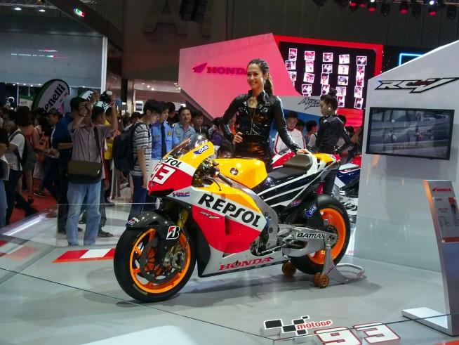 ホンダのレースバイク