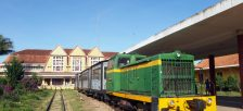 とても美しいダラットの観光列車に乗ってリンフック寺のあるチャイマット観光に行こう