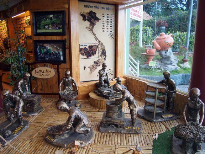 ベトナムのお茶文化