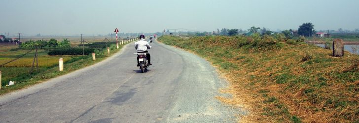 ベトナム北部山岳地帯ツーリング第1日目~ハノイからソンラ省の山奥へ~